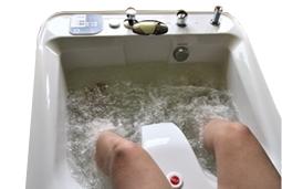 hipertenzijos sūkurinė vonia